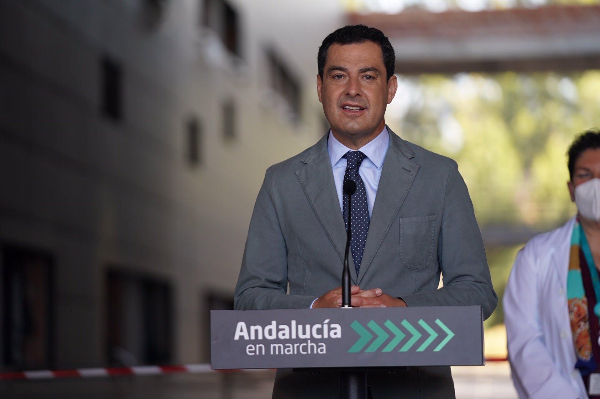 """Cvirus.- Moreno critica al Gobierno por """"la escandalosa falta de previsión"""" ante el fin del estado de alarma"""