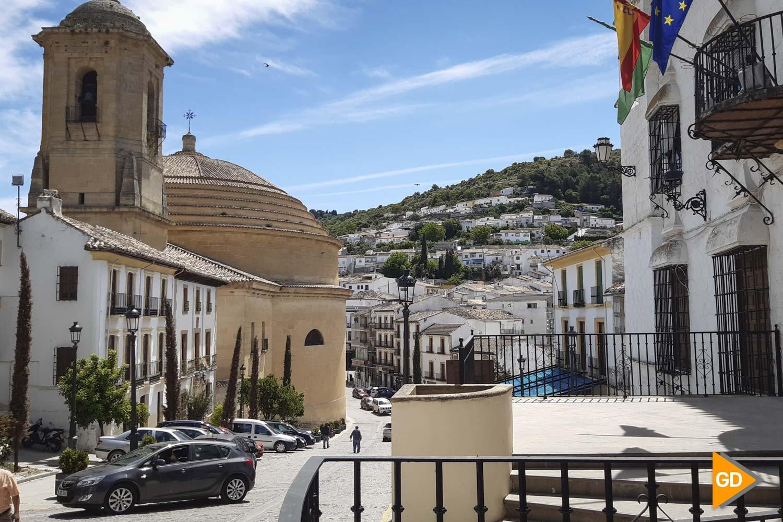 Pueblo de Montefrio en la provincia de Granada