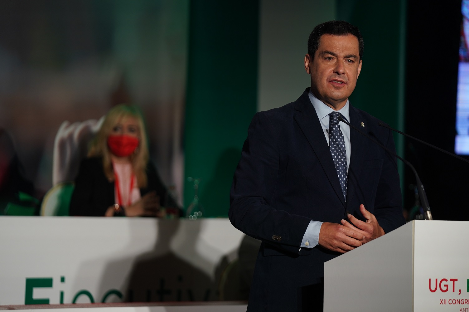 Juanma Moreno Congreso UGT Andalucía – Antequera 1
