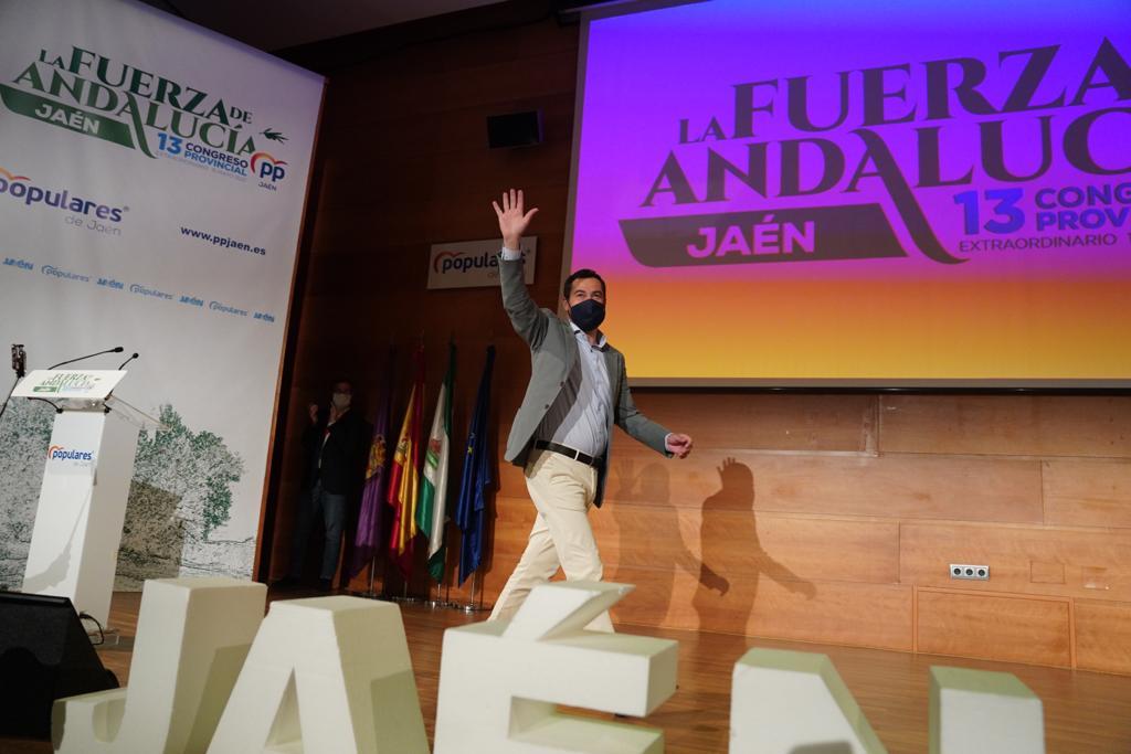 Juanma Moreno – Jaén
