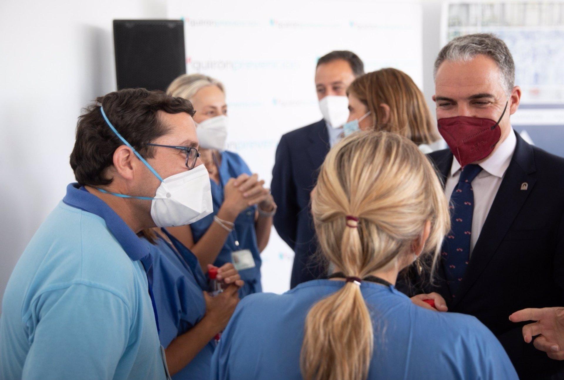 """Cvirus.- La Junta apuesta por la colaboración público-privada para meter """"una marcha más"""" en la vacunación"""