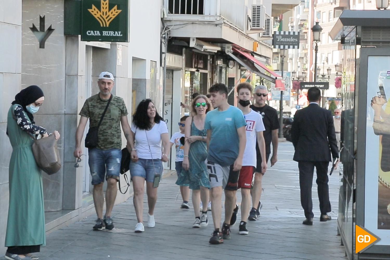 Ciudadanía Granada sin la obligatoriedad de mascarillas exteriores