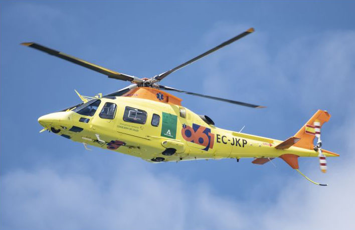 Flota helicópteros EPES-061 Andalucía