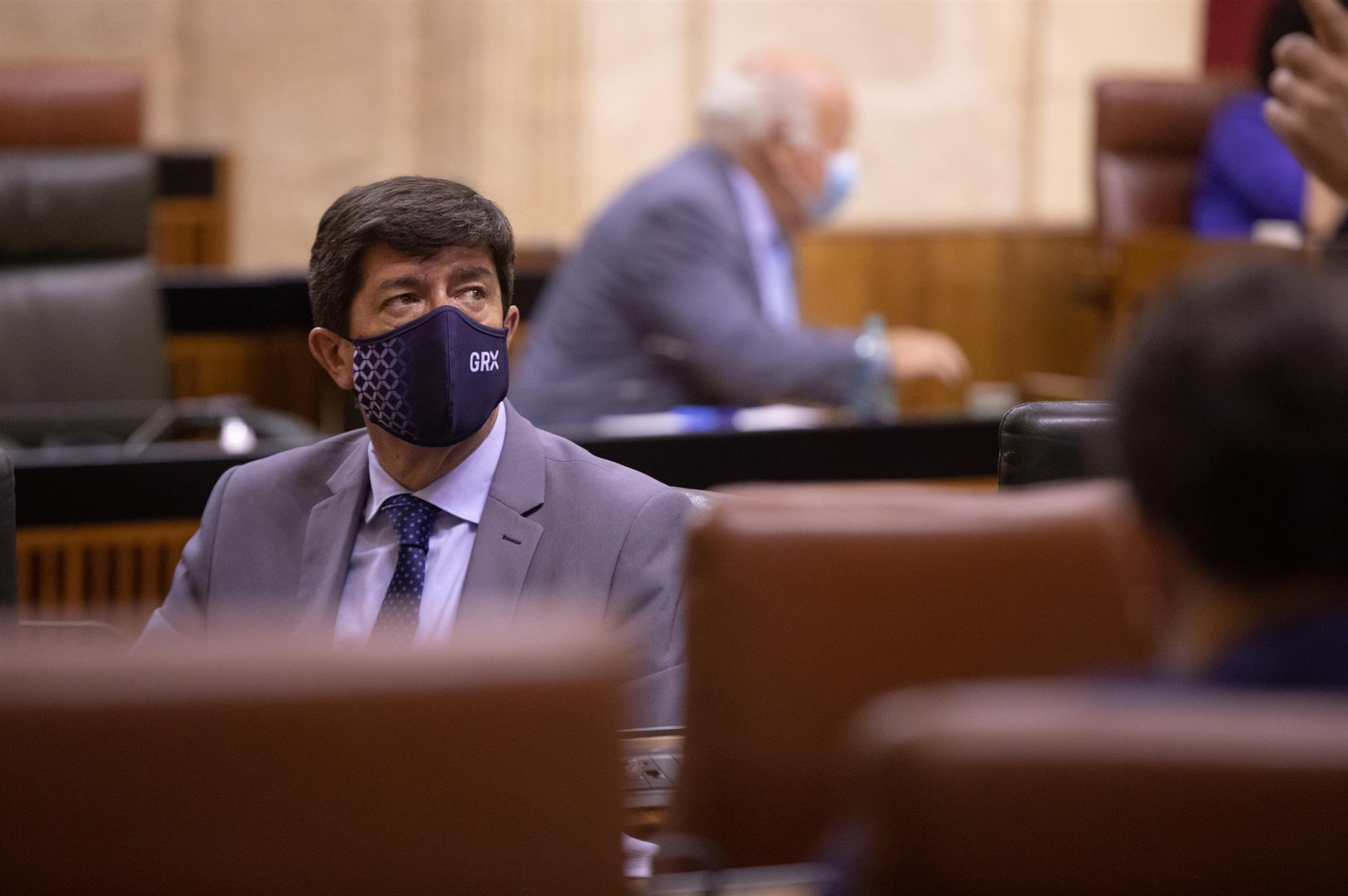 Juan Marín, en una foto de archivo en el Parlamento andaluz. – María José López – Europa Press