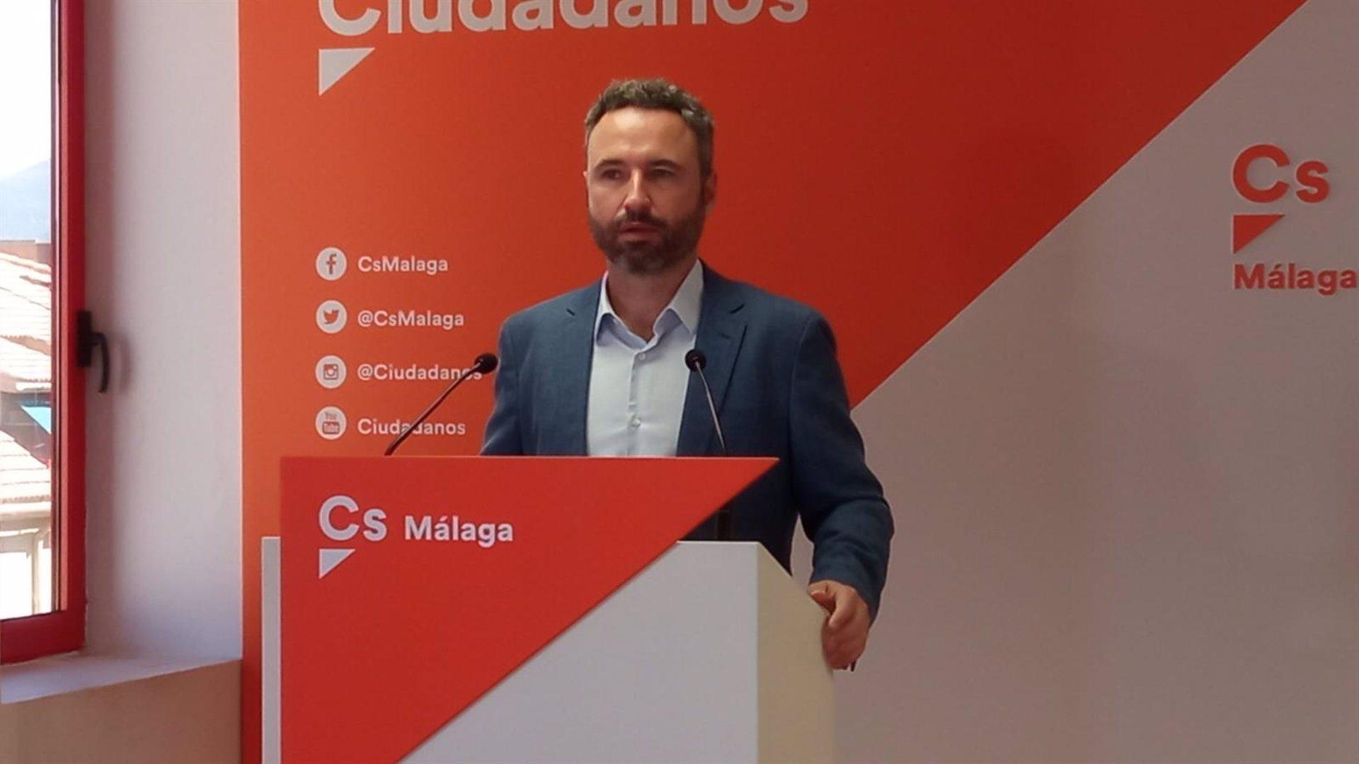 """Granada.- Cs Andalucía asegura que el pacto de gobierno 2+2 en Granada """"no existía"""" y """"se lo ha sacado PP de la manga"""""""