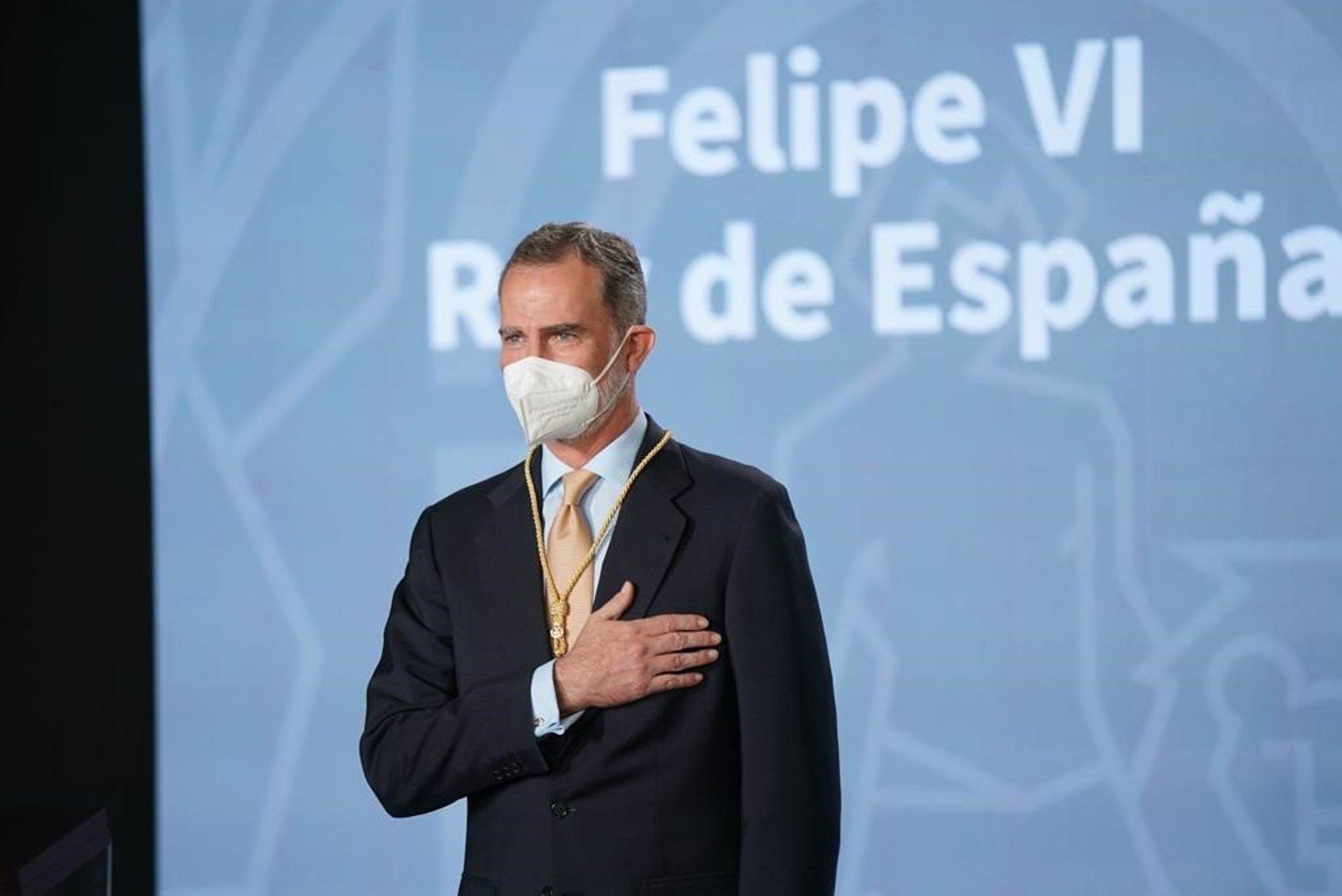 "AV.- Felipe VI recibe la Medalla de Honor de Andalucía como un ""abrazo"": ""Me siento un andaluz más entre andaluces"""