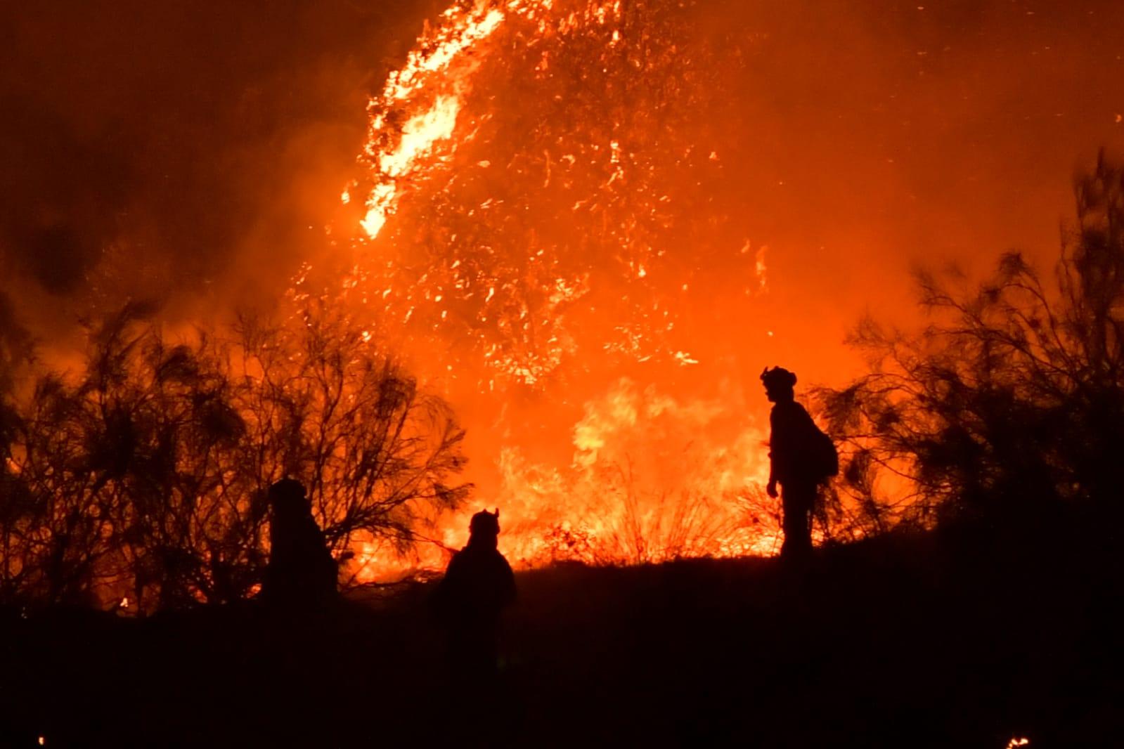 Incendio forestal Jun