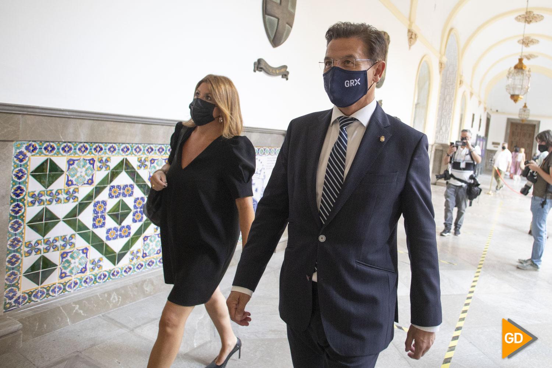 Pleno de investidura de Paco Cuenca como alcalde de Granada