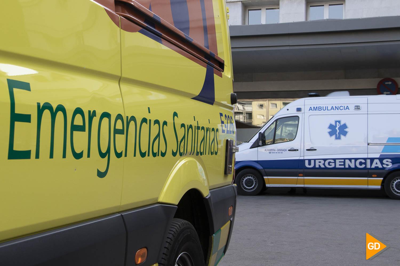 ambulancia Fotos de archivo Hospital Carlos Gijon_-5