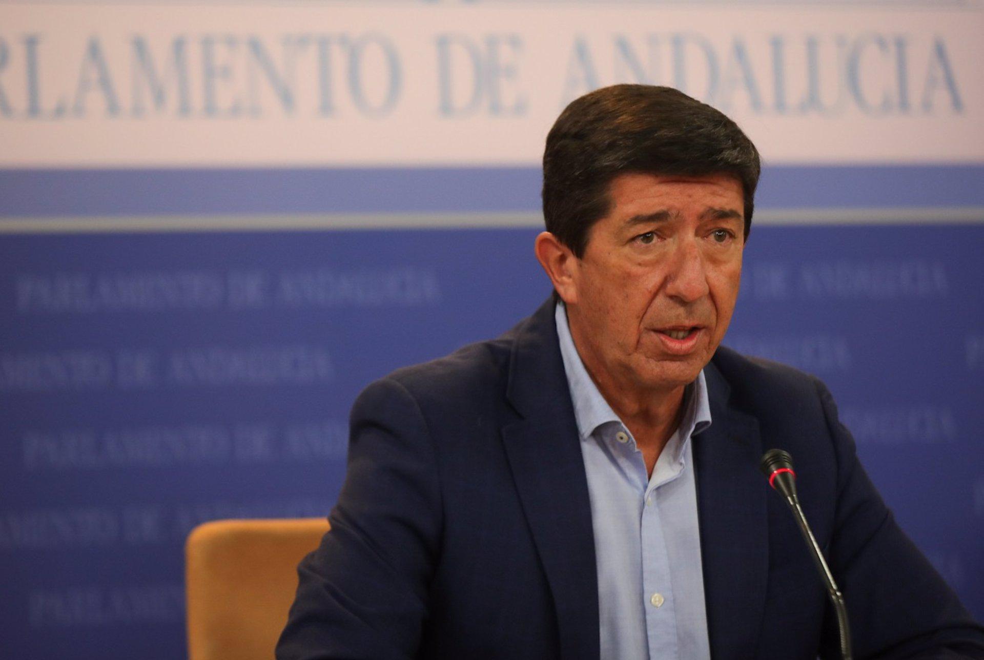 """Granada.-Marín exige el acta a Salvador como """"a todo el que abandona Cs"""" y dice que el PSOE """"tiene a tránsfugas"""""""