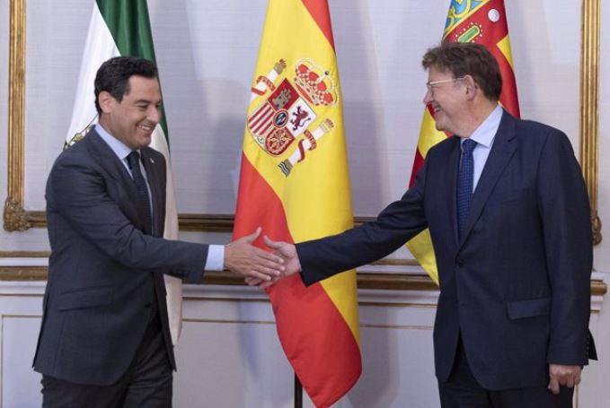 Moreno Bonilla y Ximo Puig