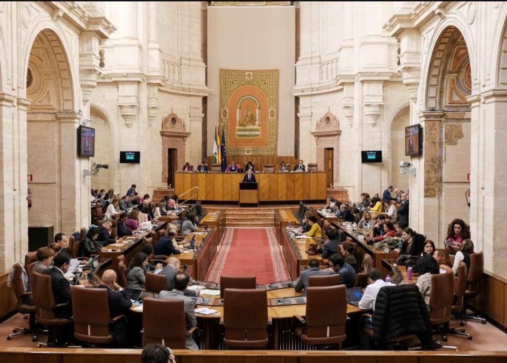 El Pleno del Parlamento aborda este miércoles inicio del curso escolar y situación de la atención primaria por el Covid
