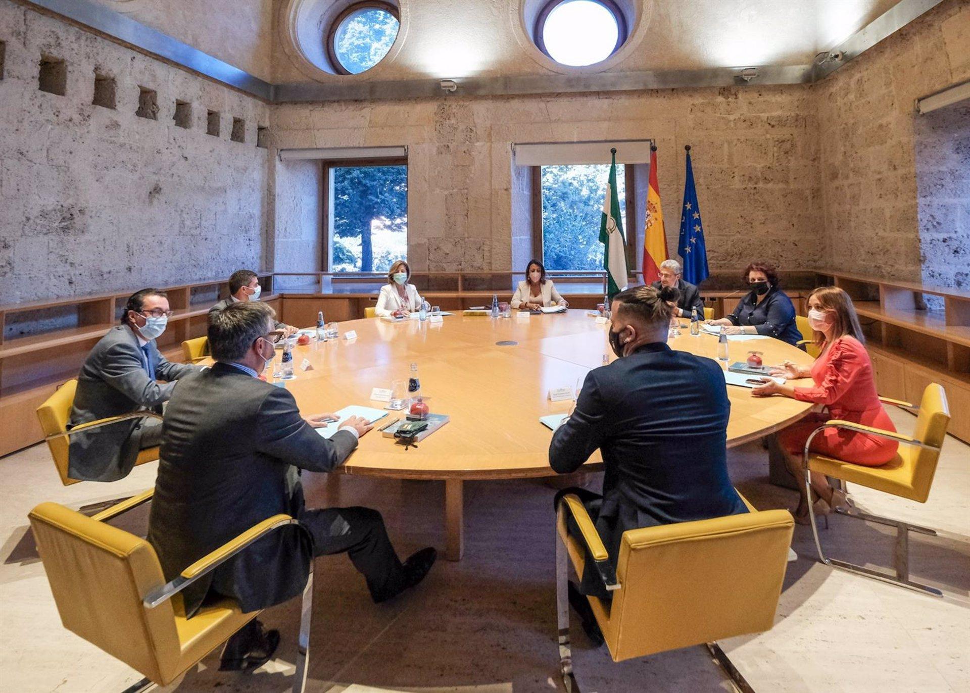 Granada.- Bosquet muestra la solidaridad de la Mesa del Parlamento con Montefrío e Íllora tras la tormenta