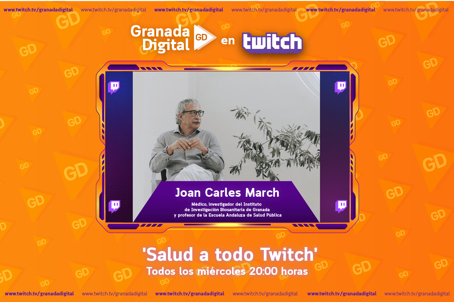 Salud a todo Twitch con Joan Carles March