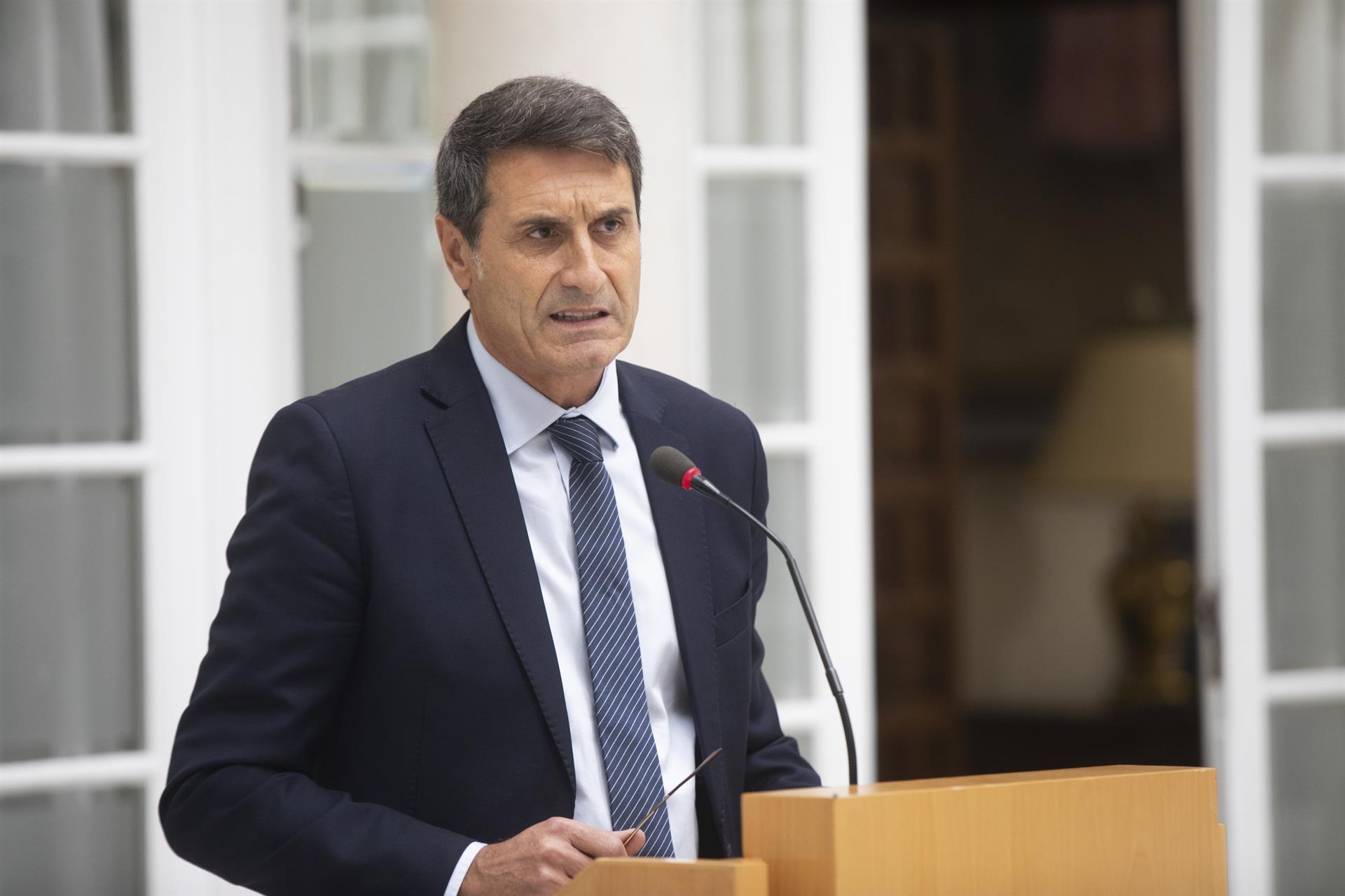 El delegado del Gobierno de España en Andalucía, Pedro Fernández