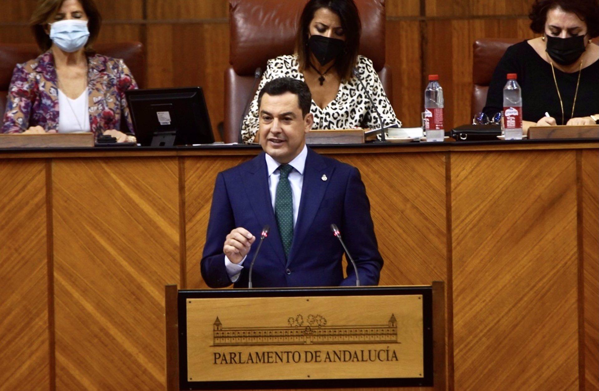 Debate.-AMP.-Moreno anuncia 220 millones en ayudas a contratación a menores de 30 años y tarjeta joven de transporte